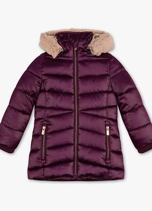 Удлиненные деми куртки девочкам с-а германия 110-128