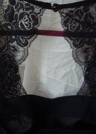 Черное платье с кружевом от oasis3 фото