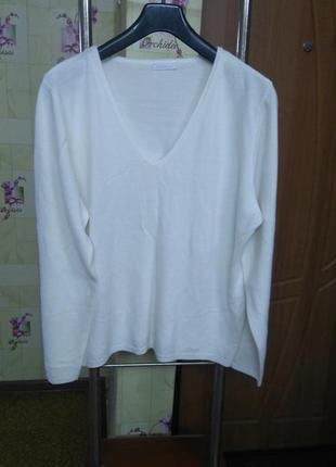 Мягкий тепленький свитер полувер matalan р.22 большой размер.