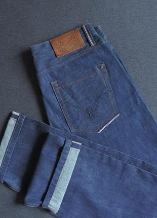 Качественные джинсы kenzo. оригинал. селвидж.