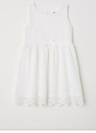 Нарядное платье h&m на 2-4 года