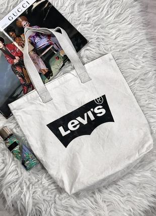 Крутая модная сумка levi's1 фото
