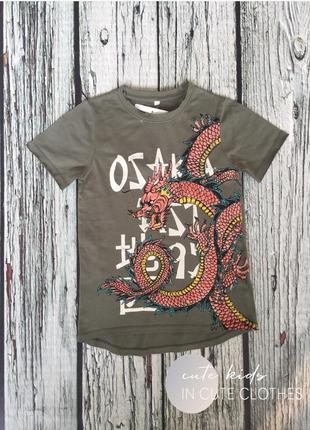 Котонова футболка з драконом