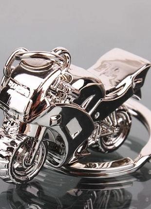 Большой выбор! новый крутой добротный брелок 3d мотоцикл, для любителей, на подарок