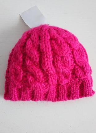 Распродажа! тёплая детская  шапочка шапка на девочку  немецкого бренда c&a