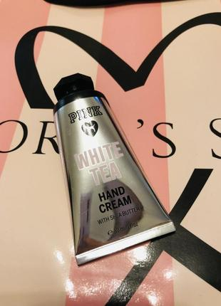 Крем для рук white tea victoria's secret pink