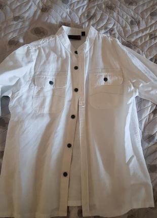 Нарядная льняная рубашка