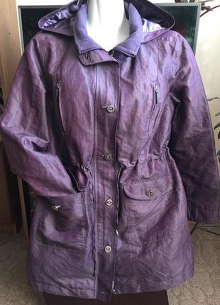 Супер ветровка курточка на флисе раз xl(50)