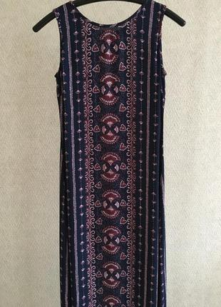 Длинное платье из вискозы agnes flo