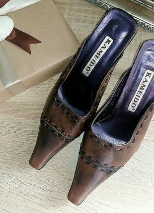 Мюли, туфли с открытой пяткой 39 размер