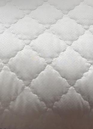 Стёганая антиаллергенная подушка 50х70 на замочке холофайбер