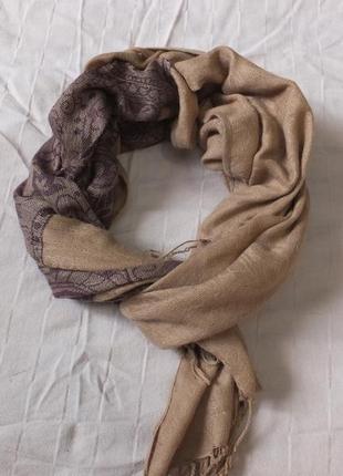Весенний шарф шаль шарфик палантин деми