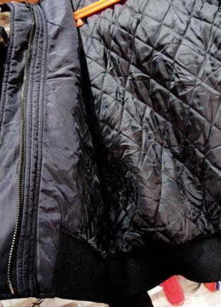 Kappa (оригинал) италия  короткая куртка  с капюшоном с мехом енота5 фото