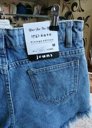 Шорти джинсові4 фото