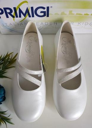 Кожаные туфли primigi. италия