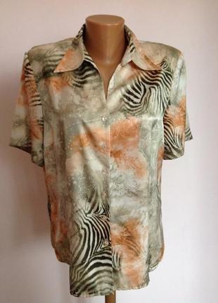 Симпатичная немецкая блуза. /42/ brend gerry weber