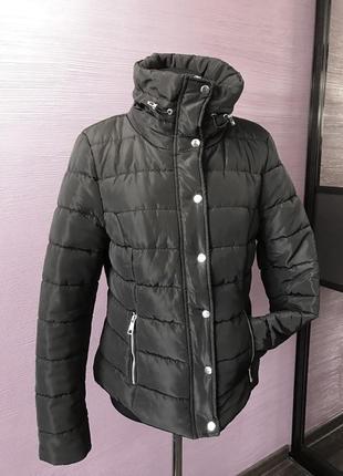 Куртка черная л-ка
