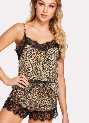 Пижама леопардовая