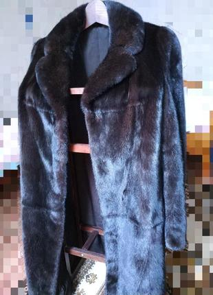 Идеальная норковая шуба palace peeress furs 48 размер