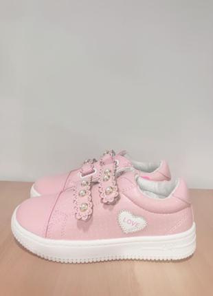 Няшные туфли на весну для девочки