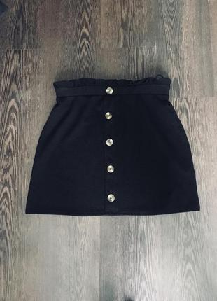 Шикарная юбка с высокой посадкой new look
