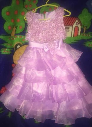 Красивое платье в садик на утренник