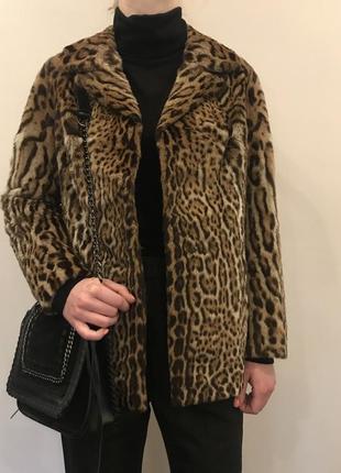 Шикарный жакет из натурального меха леопарда от pelzmoden2 фото