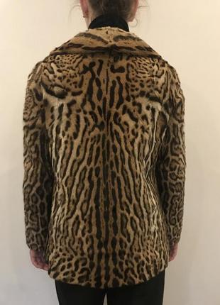 Шикарный жакет из натурального меха леопарда от pelzmoden4 фото