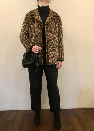 Шикарный жакет из натурального меха леопарда от pelzmoden5 фото