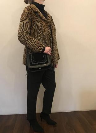 Шикарный жакет из натурального меха леопарда от pelzmoden6 фото