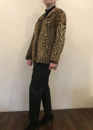 Шикарный жакет из натурального меха леопарда от pelzmoden7 фото