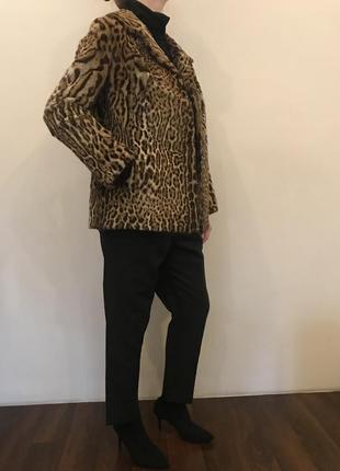 Шикарный жакет из натурального меха леопарда от pelzmoden8 фото