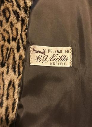 Шикарный жакет из натурального меха леопарда от pelzmoden10 фото