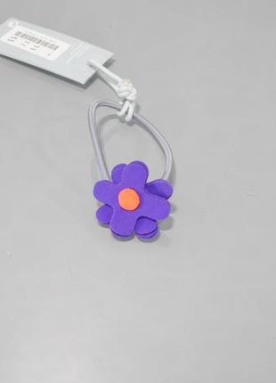 Оригинальная резинка для волос-фиолетовый цветок от бренда cos разм. one size