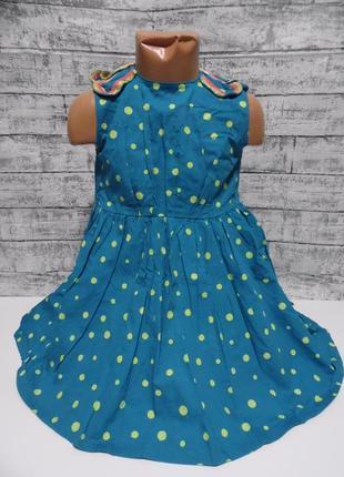 Платье mamas & papas  рост 104см. 3-4года