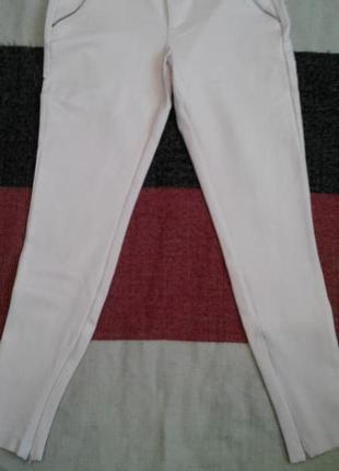 Штани всітло нюдового кольору від zara