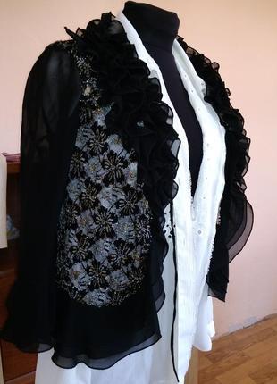 Блузка накидка