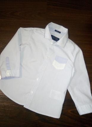 Стильна рубашка на 2-3года