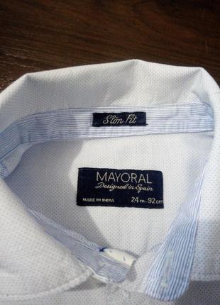 Стильна рубашка на 2-3года3 фото