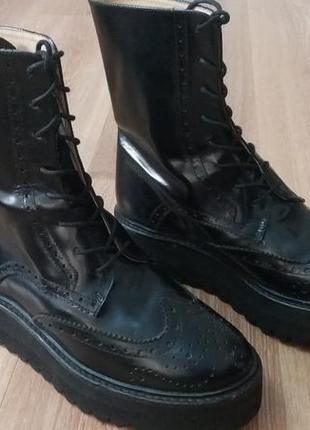 Ботинки,черевики,броги,челси тренд 2019р.от palomitas,100%кожа!!!!