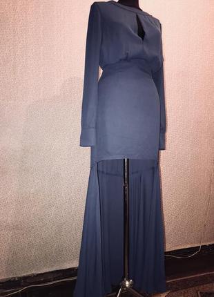 Брендовое вечернее платье от американского бренда nasty gal