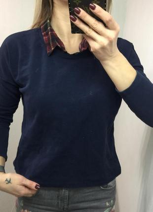 Кофта с рубашкой
