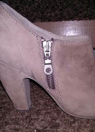 Замшеві туфлі 37 розмір