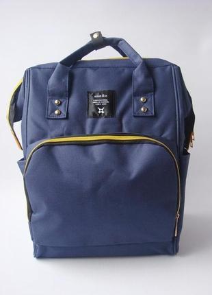 Сумка-рюкзак для мам anello, органайзер для мамы