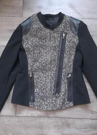 Безупречный стильный жакет пиджак куртка taifun massimo dutti. оригинал