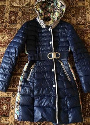 Зимний плащ-пальто ommitte