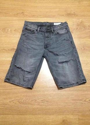 Стильные джинсовые капри / длинные шорты / denim co / 28