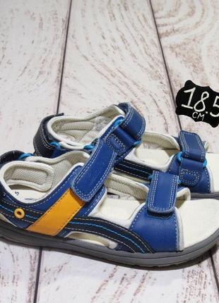 Clark's (18,5 см) кожаные сандали, босоножки для мальчика