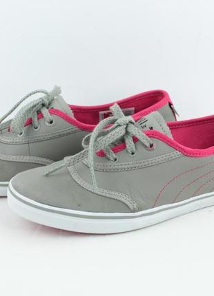 Оригинальные кожаные кроссовки кеды балетки puma mini размер 38 24см 14eb823f38788