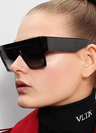 Квадратные очки.массивные очки.очки.солнцезащитные очки.имиджевые очки